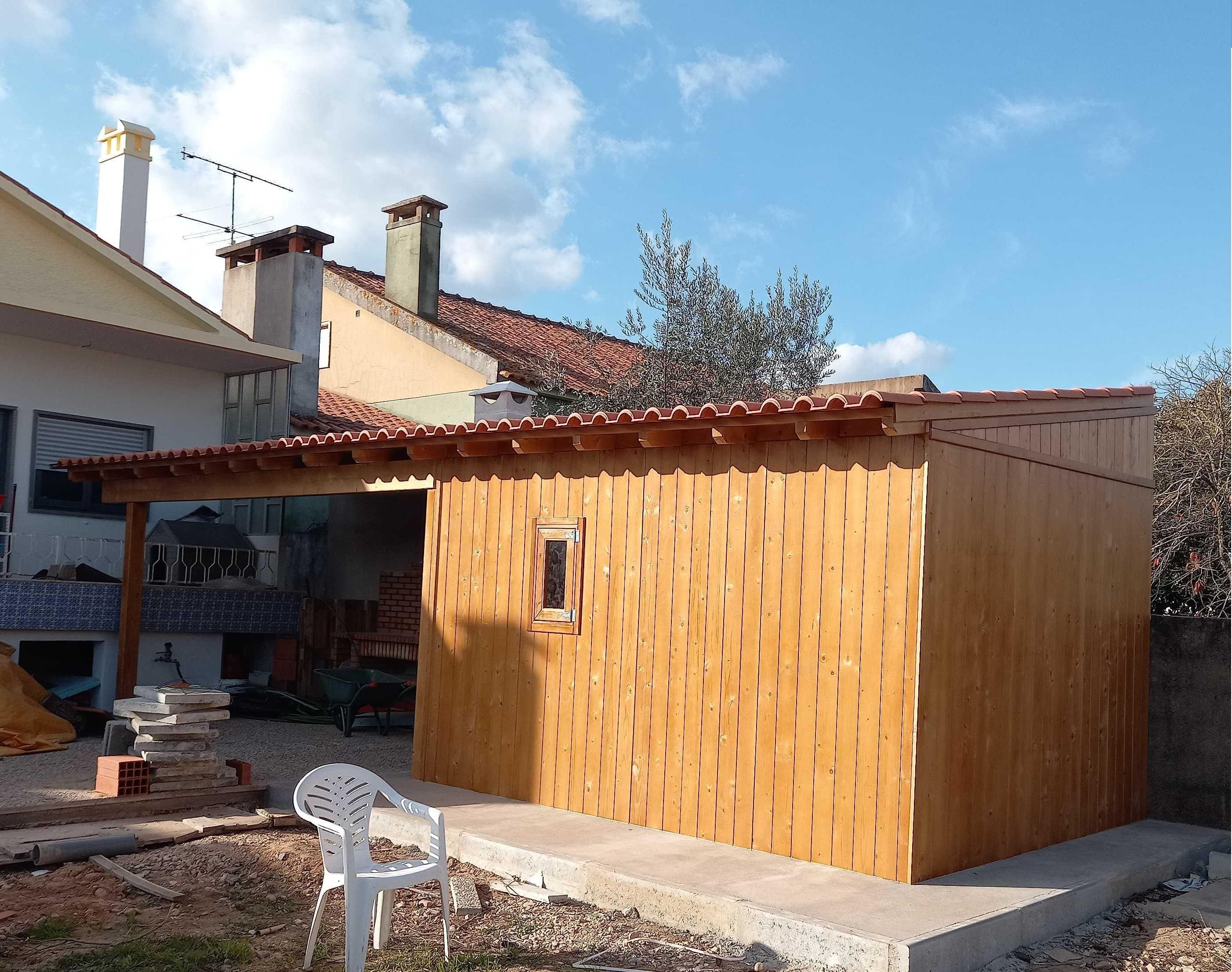 abrigos de madeira Madeira&Conforto