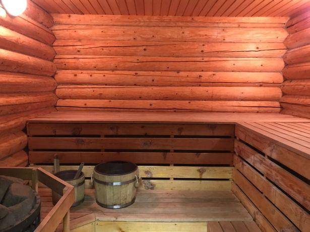 Баня на дровах з басейном в Святопетрівському