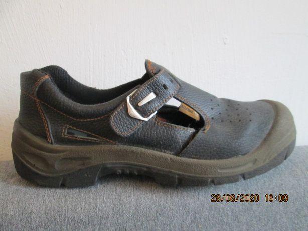Buty robocze z blachą czarne 43