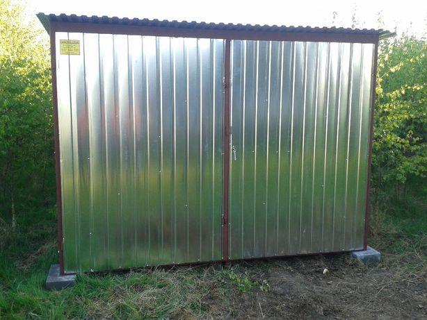 Konstrukcja Stalowa Garaż Blaszany Bramy Blaszaki Blaszak Wiaty OPC24H
