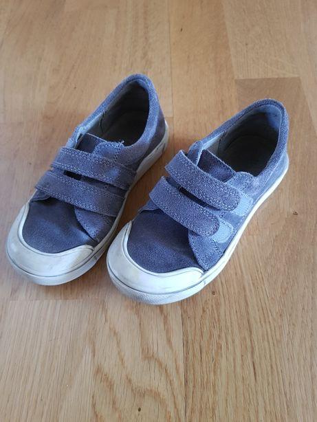 Buty zamszowe Kornecki chłopięce 27
