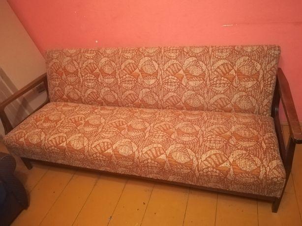 Wersalka z PRL plus 2 fotele