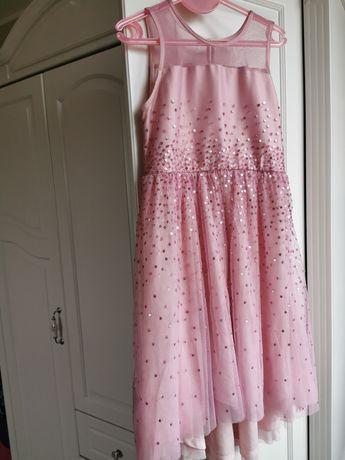 Sukienka + torebeczka 146 cm