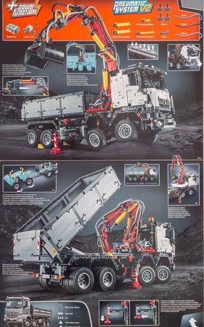 Конструктор lego Technic техник MERCEDES-BENZ Arocs 42043