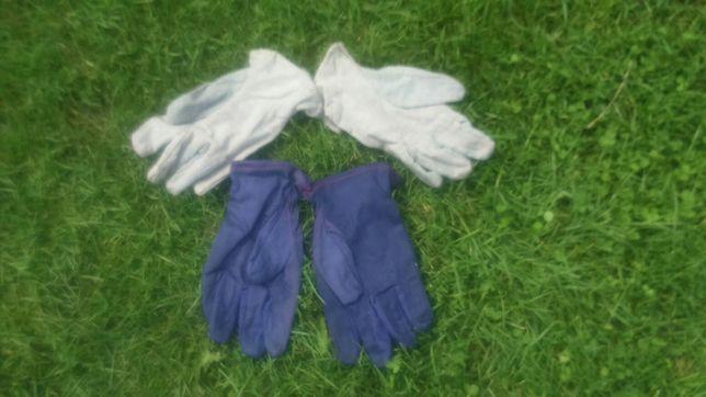 Rękawice drelichowe