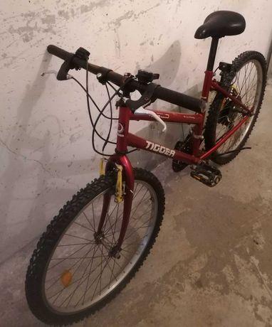 Rower górski Tigger koła 24 cale.Czerwony.