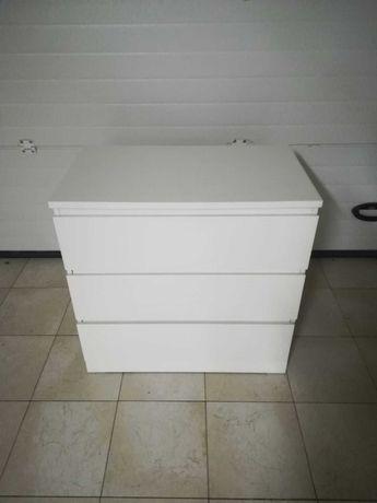 Cómoda MALM c/3 gavetas IKEA