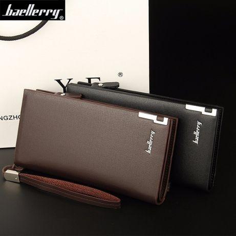 Мужской кошелёк-портмоне Baellerry Classic