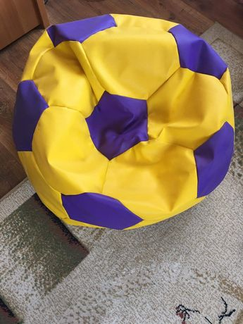 Siedzisko pufa fotel worek piłka 2 szt