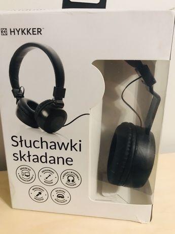 Słuchawki składane hykker przewodowe