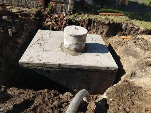 szambo betonowe z wykopaniem, podłączeniem na gotowo Boszkowo
