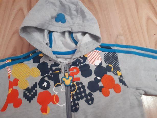 Śliczna bluza Adidas kolekcja Micky. Rozmiar 74.