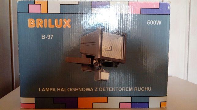 Lampa Halogenowa z detektorem ruchu BRILUX B-97