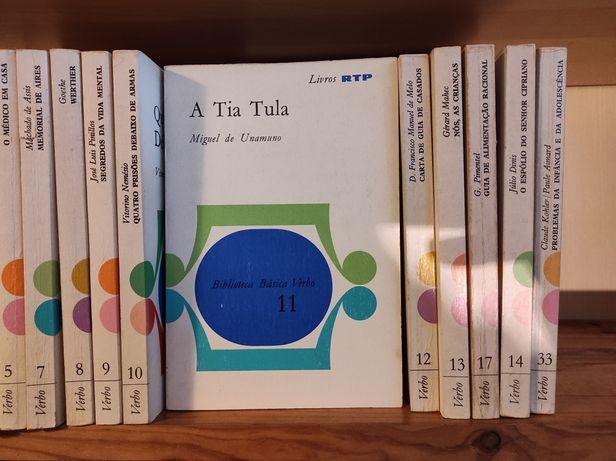 Livros RTP coleção
