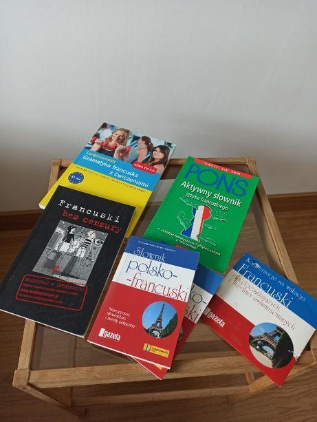 zestaw do nauki francuskiego podręcznik gramatyka rozmówki