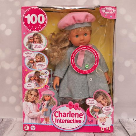 Lalka Charlene firmy Bayer 46cm nowa