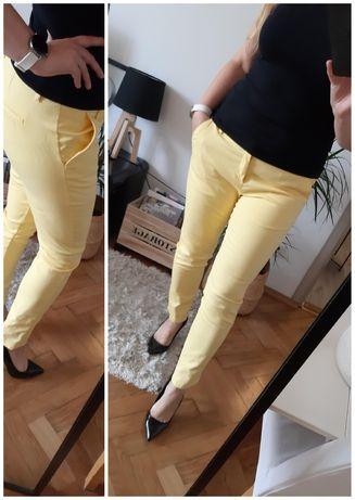 Modne spodnie cygaretki House rozm XL