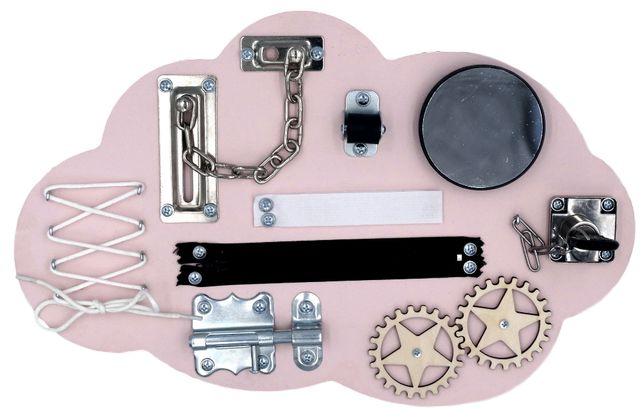Tablica manipulacyjna Chmurka Montessori | Na prezent | DARMOWA wysyłk