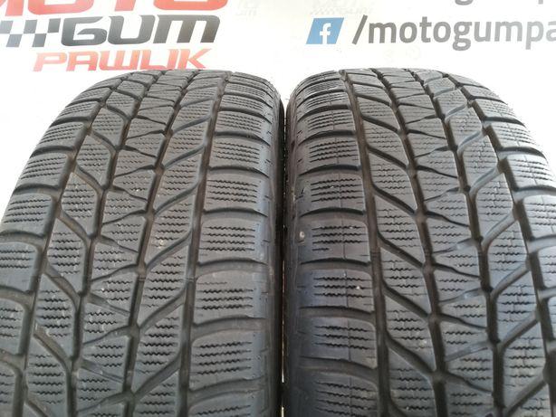 Opony zimowe 2x 205/55r17 91H Bridgestone 16r 6.7mm