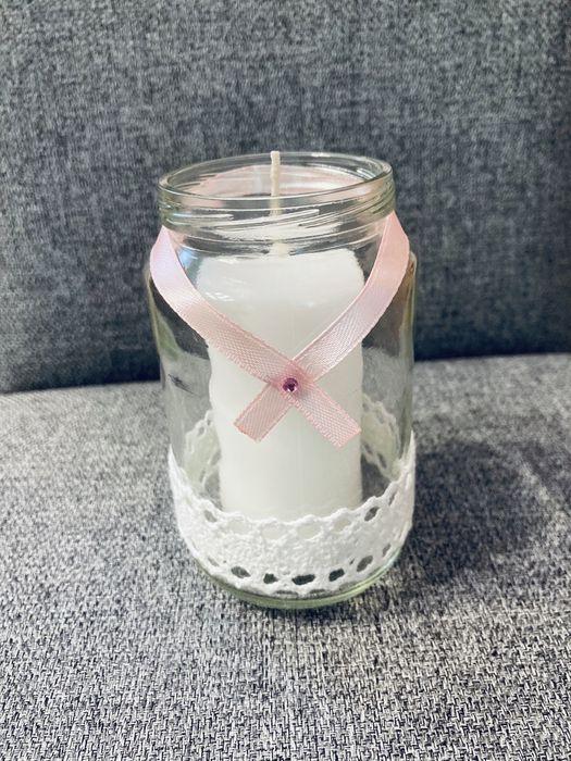 Świeczniki świeca wesele dekoracje ślub Myślenice - image 1