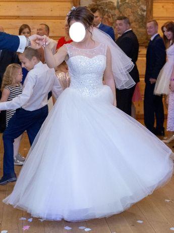 Suknie ślubna księżniczka
