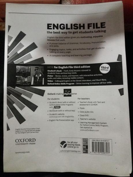 English File(B2) workbook