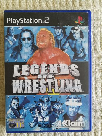 Gry PS2 - LEGENDS OF WRESTLING - Playstation 2 - Super Gra RETRO
