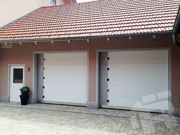 Brama Garażowa Drzwi Garażowe Segmentowe Wzmacniana wersja bramy
