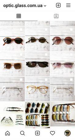 Очки и оправы знаменитых брендов Donna Karan, Romeo Gigli, Takumi