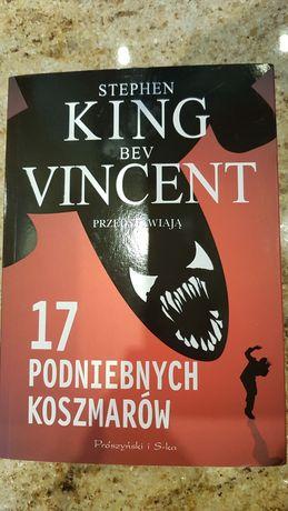 Książka Stephen King 17 podniebnych koszmarów