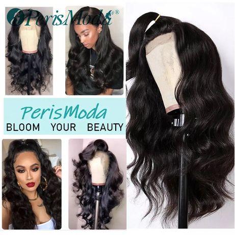 Nowa czarna peruka ,włos jak naturalny ,lace Front