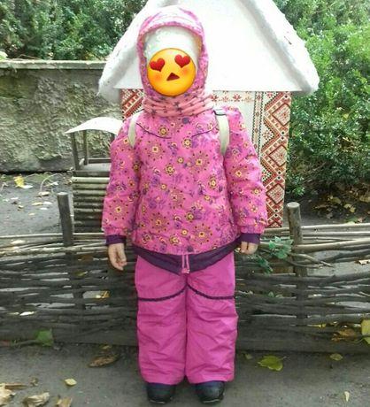 Зимний термокомбинезон на девочку