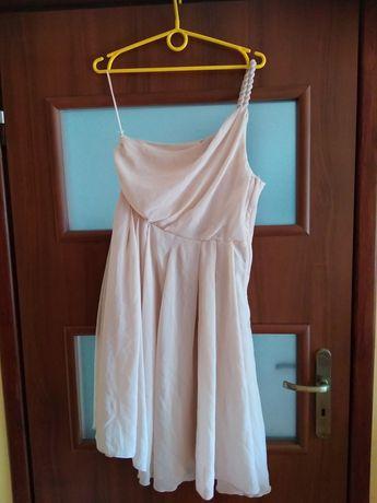Sukienka okazyjna na jedno ramię rozmiar 40