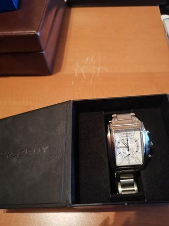 Relógio Cronógrafo todo em aço