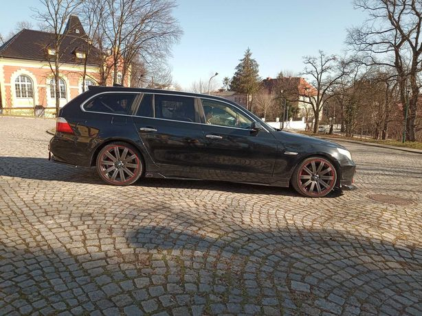 BMW e61 M5 styling , full opcja, chip, 2005r sran super