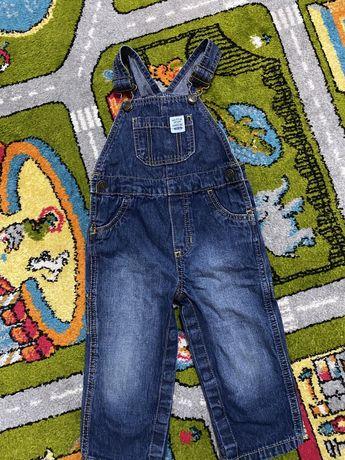 Джинси, джинсовий комбінезон carters