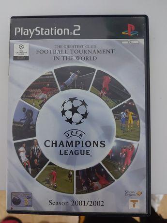 Jogo Champions League 2001 PS2