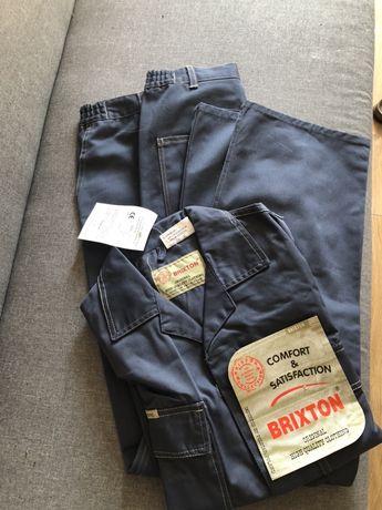 Spodnie i bluza  BHP robocze