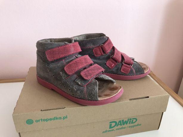 Sandały profilaktyczne Dawid r 28