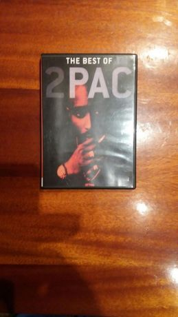 """ДВД диск """" The best of 2PAC""""."""
