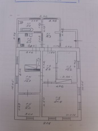 Продається будинок смт Чорнухи