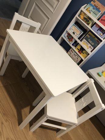 Stolik 2 krzesełka IKEA KRITTER