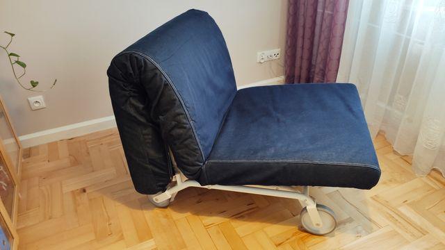 Łóżko tapczan kanapa do spania Ikea Lycksele Murbo