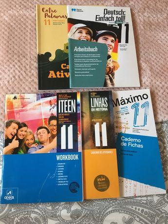 Cadernos de atividades 11.º ano