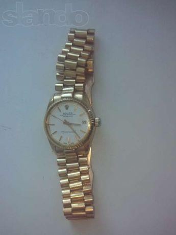 Продам часы золотые оригинальный Rolex