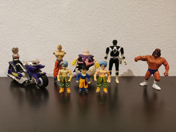 Figuras Bonecos Power Rangers, Moto Ratos, Dragon Ball Z (bubu trunks)
