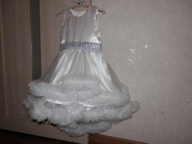 Платье облако, костюм ангела