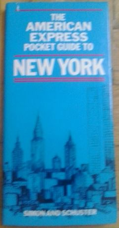 The american express pocket guide to New York. Simon and Schuster