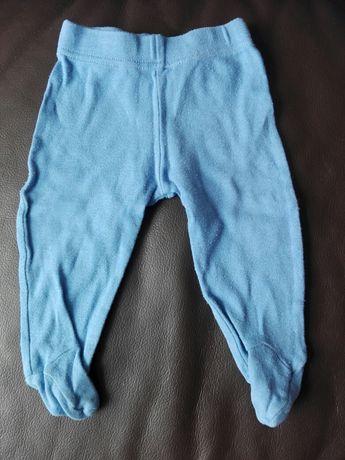 Spodnie chłopięcfe pół śpiochy roz. 68
