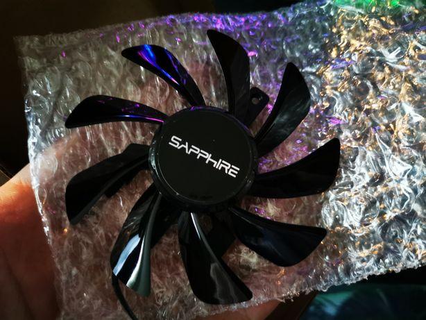 Wentylator do karty ATI Rx 570, 580 Sapphire nitro, fabrycznie nowy